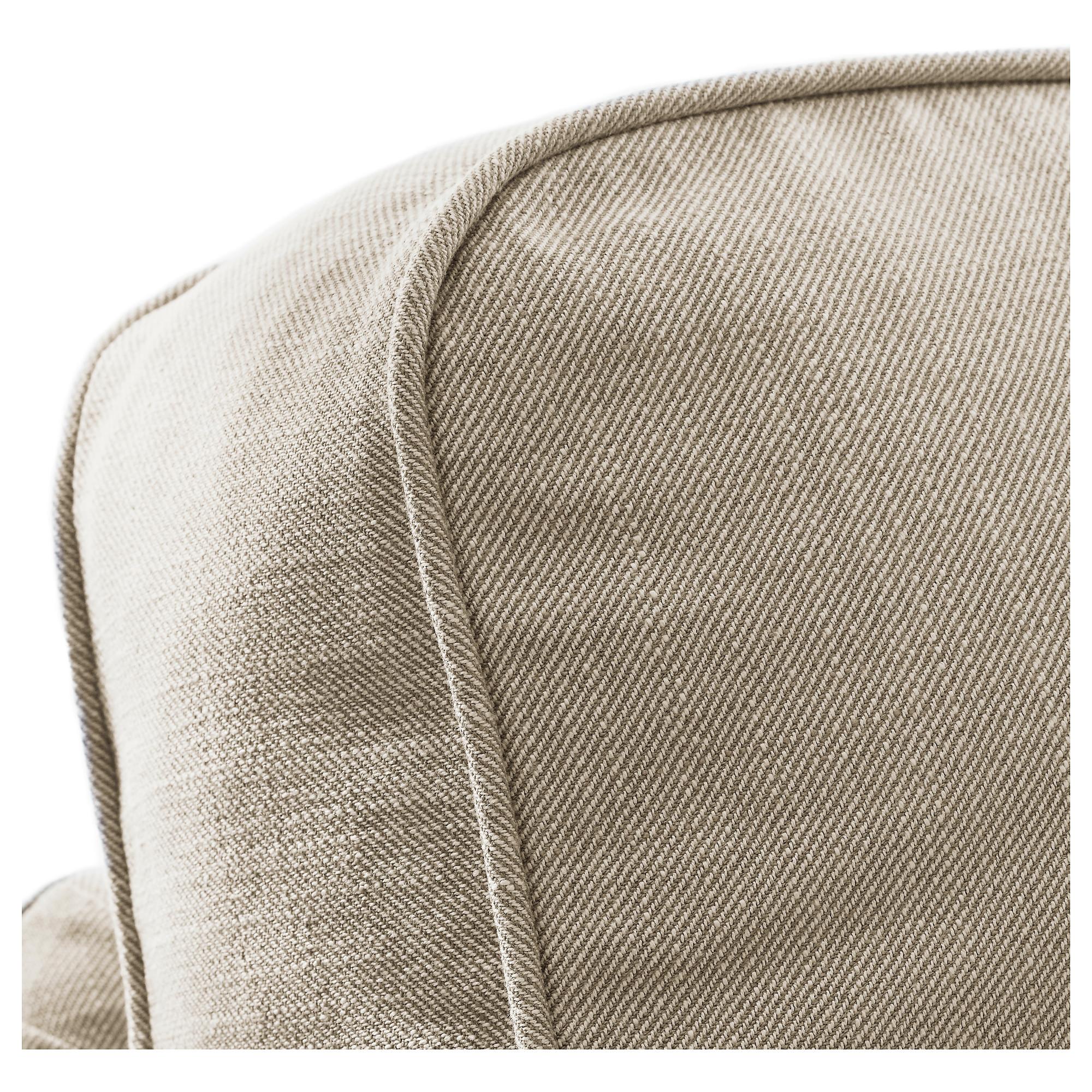 Awe Inspiring Ektorp 3 Seat Sofa With Chaise Longue Nordvalla Dark Theyellowbook Wood Chair Design Ideas Theyellowbookinfo