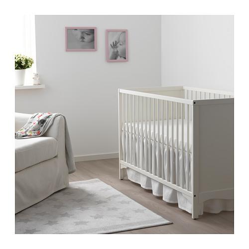 LEN 嬰兒床架床裙