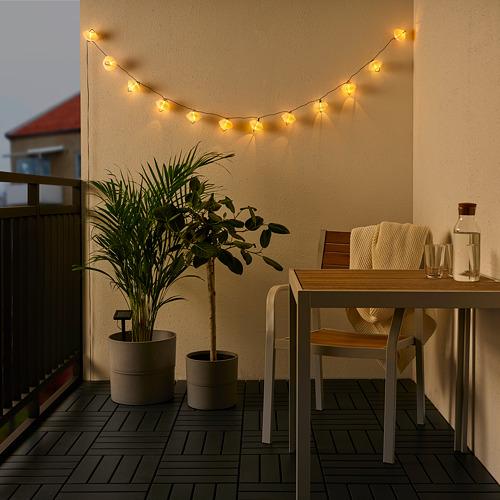 SOLVINDEN LED lighting chain with 12 lights