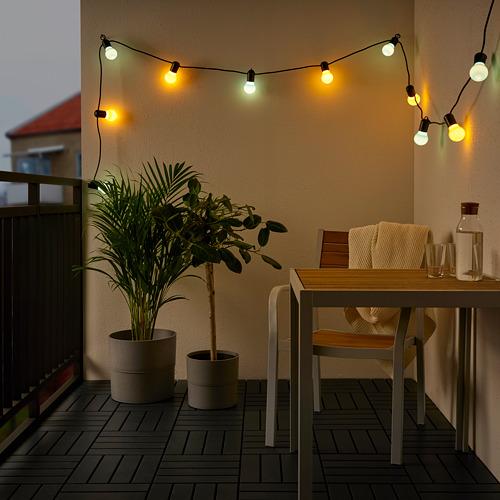 SOLVINDEN - 12頭LED裝飾燈串, 戶外/彩色   IKEA 香港及澳門 - PE793861_S4