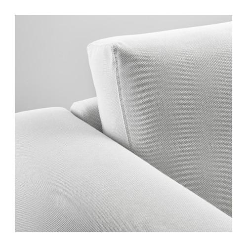 NORSBORG - 4-seat sofa, with chaise longues/Finnsta white/metal | IKEA Hong Kong and Macau - PE585633_S4