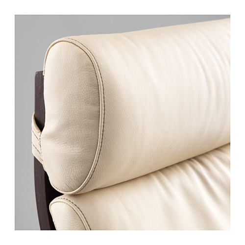 POÄNG - armchair, black-brown/Glose eggshell | IKEA Hong Kong and Macau - PE585645_S4