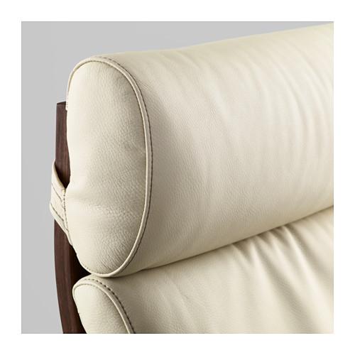 POÄNG - 扶手椅, 褐色/Glose 奶白色 | IKEA 香港及澳門 - PE585723_S4
