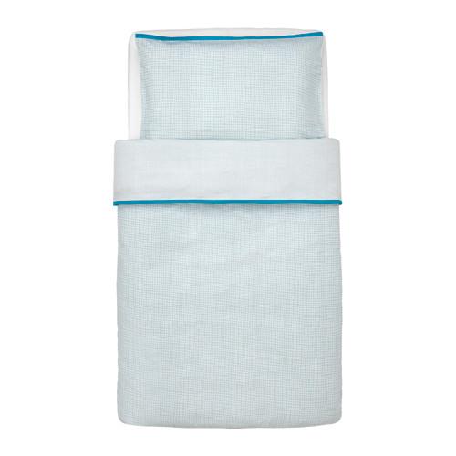 KLÄMMIG 嬰兒被套枕袋套裝
