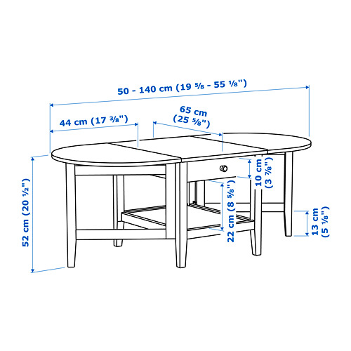 ARKELSTORP - 茶几, 黑色 | IKEA 香港及澳門 - PE738385_S4