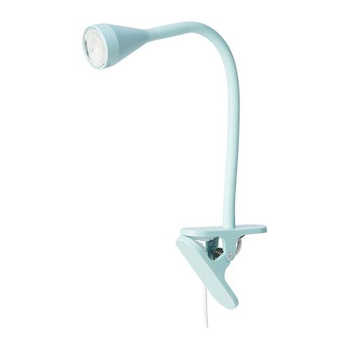 NÄVLINGE - LED夾式射燈, 淺藍色   IKEA 香港及澳門 - PE777286_S4