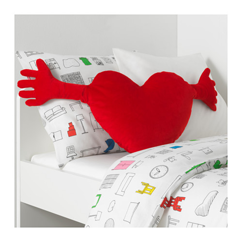 FAMNIG HJÄRTA - 咕, 紅色 | IKEA 香港及澳門 - PE647539_S4