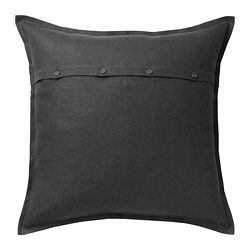 AINA - cushion cover, dark grey | IKEA Hong Kong and Macau - PE695194_S3