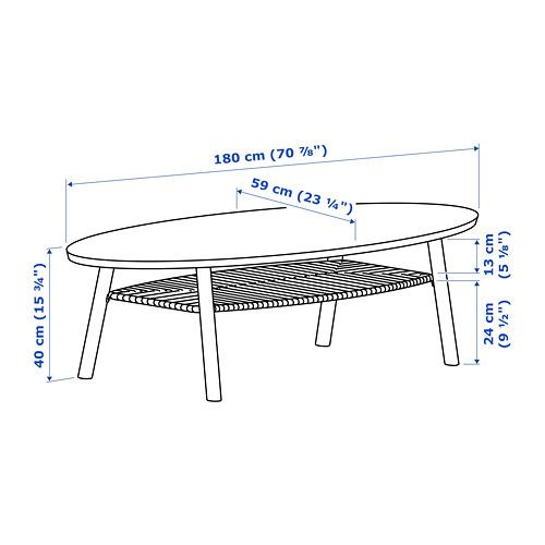 STOCKHOLM - 茶几, 胡桃木飾面 | IKEA 香港及澳門 - PE738436_S4