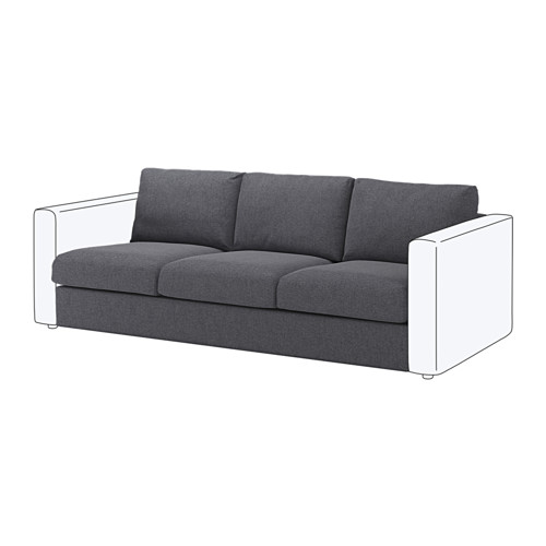VIMLE - 3-seat section, Gunnared medium grey | IKEA Hong Kong and Macau - PE647626_S4