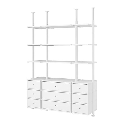 ELVARLI - 3 sections, white | IKEA Hong Kong and Macau - PE777891_S4