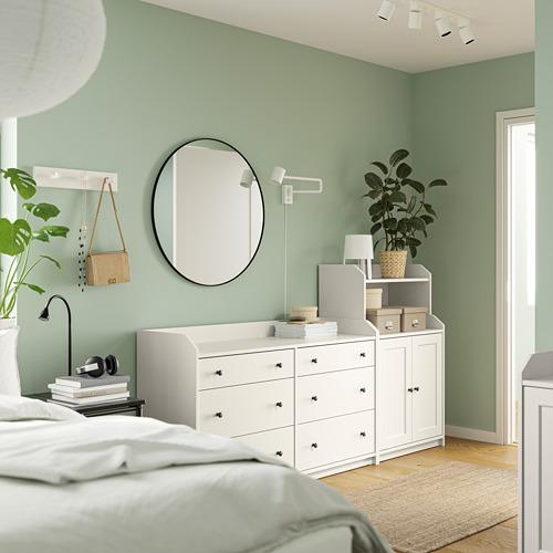 HAUGA - storage combination, white | IKEA Hong Kong and Macau - PE791287_S4