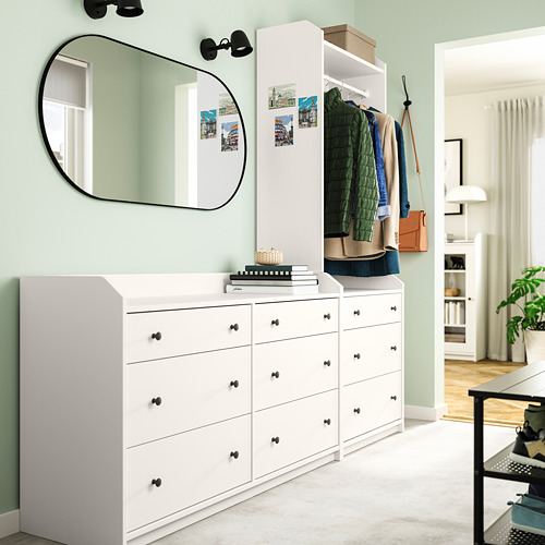 HAUGA - storage combination, white | IKEA Hong Kong and Macau - PE791291_S4