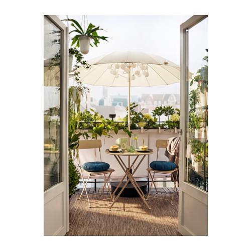 SALTHOLMEN - chair, outdoor, foldable beige | IKEA Hong Kong and Macau - PH141334_S4