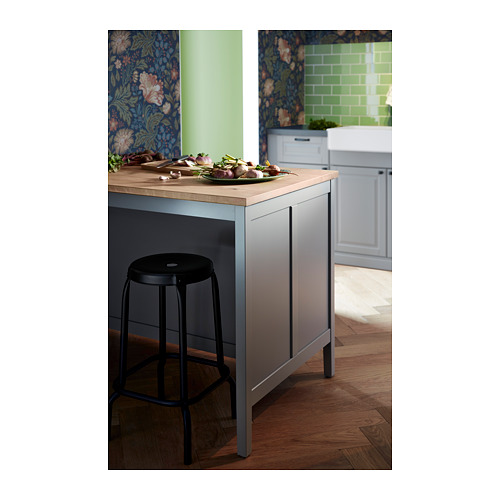 TORNVIKEN - 廚房工作檯, 灰色/橡木   IKEA 香港及澳門 - PH156214_S4