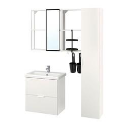 TVÄLLEN/ENHET - 浴室貯物組合 18件裝, white/Ensen tap | IKEA 香港及澳門 - PE777526_S3