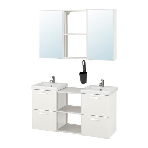 TVÄLLEN/ENHET - 浴室貯物組合 22件裝, white/Pilkån tap | IKEA 香港及澳門 - PE777516_S4