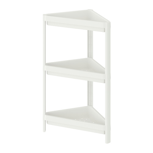 VESKEN corner shelf unit