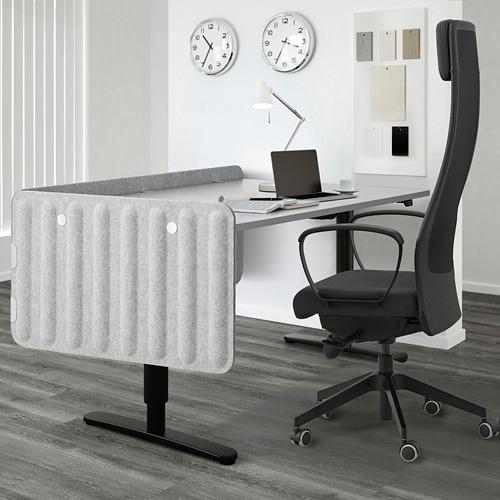 EILIF - screen for desk, 160x48cm, grey | IKEA Hong Kong and Macau - PE791335_S4