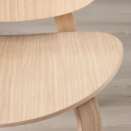 FRÖSET - easy chair, white stained oak veneer | IKEA Hong Kong and Macau - PE777564_S4