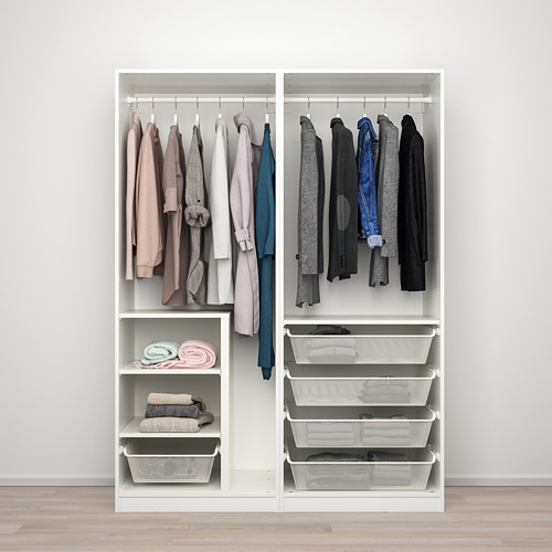 PAX/SEKKEN wardrobe combination, 150x66x201.2 cm