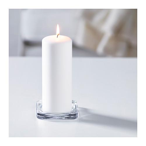 GLASIG - 蠟燭碟, 透明玻璃 | IKEA 香港及澳門 - PE586154_S4