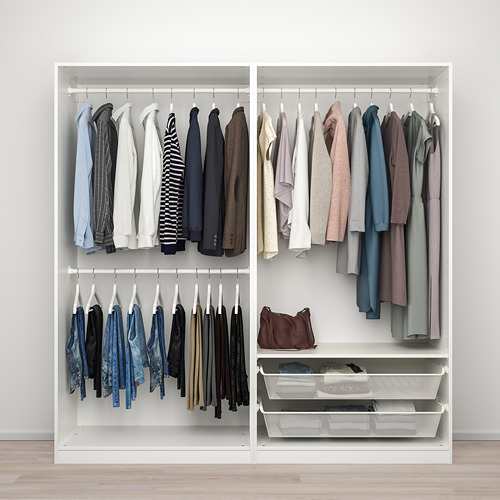 PAX/GRIMO - wardrobe combination, white | IKEA Hong Kong and Macau - PE777614_S4
