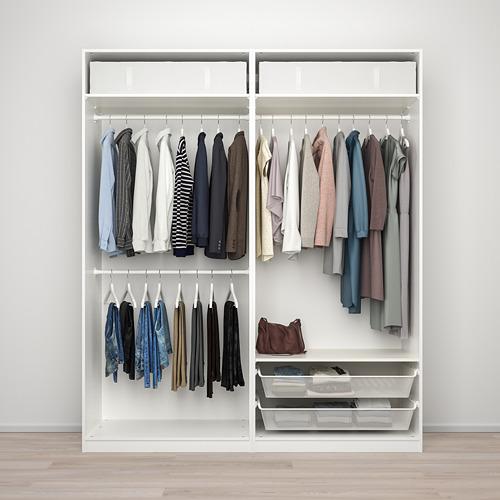 GRIMO/PAX - 衣櫃組合, 白色 | IKEA 香港及澳門 - PE777616_S4