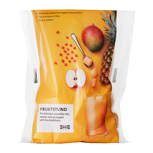 FRUKTSTUND - pre-blended smoothie mix, mango/pineapple with sea buckthorn/frozen | IKEA Hong Kong and Macau - PE777633_S4