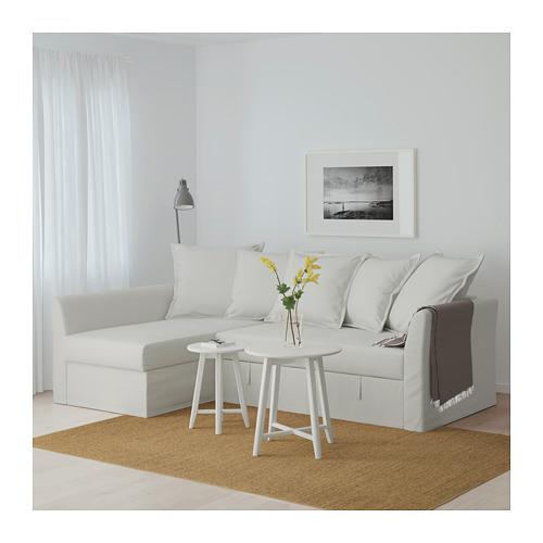 HOLMSUND - 角位梳化床(可貯物), orrsta 淺白灰色   IKEA 香港及澳門 - PE648011_S4