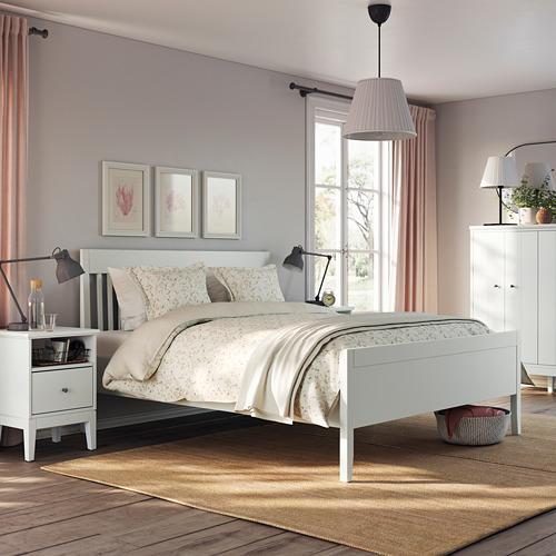IDANÄS - bed frame, double, white/Luröy | IKEA Hong Kong and Macau - PE791461_S4