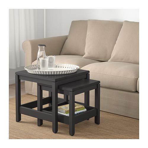 HAVSTA - 茶几,2件套裝, 深褐色 | IKEA 香港及澳門 - PE695390_S4