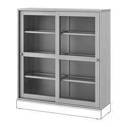 HAVSTA - glass-door cabinet, grey | IKEA Hong Kong and Macau - PE695395_S3
