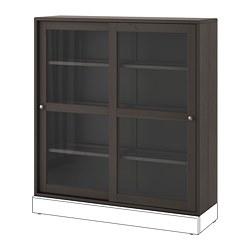 HAVSTA - glass-door cabinet, dark brown | IKEA Hong Kong and Macau - PE695405_S3