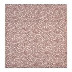 HAKVINGE - 布料, 米色 深紅色/樹葉圖案 | IKEA 香港及澳門 - PE777663_S3
