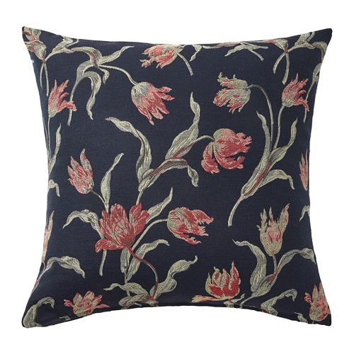 ÅLANDSROT - cushion, dark blue/floral patterned | IKEA Hong Kong and Macau - PE777675_S4