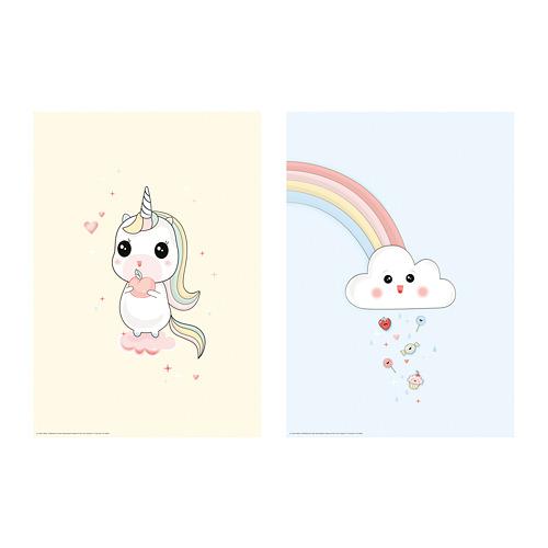 BILD - poster, Unicorn on a cloud | IKEA Hong Kong and Macau - PE791446_S4