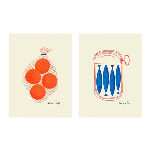 BILD - 海報, 橙   IKEA 香港及澳門 - PE791447_S4