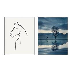 BILD - poster, Horse drawing | IKEA Hong Kong and Macau - PE791448_S3