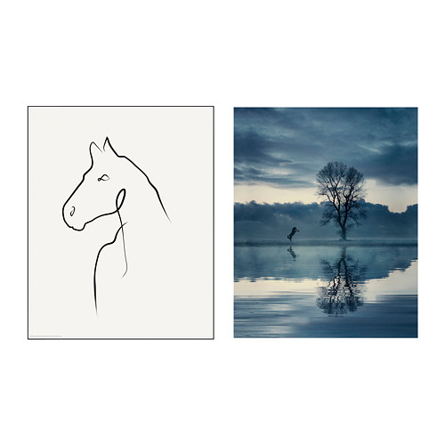 BILD - poster, Horse drawing | IKEA Hong Kong and Macau - PE791448_S4