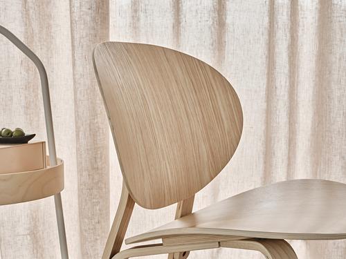 FRÖSET - easy chair, white stained oak veneer | IKEA Hong Kong and Macau - PH170242_S4
