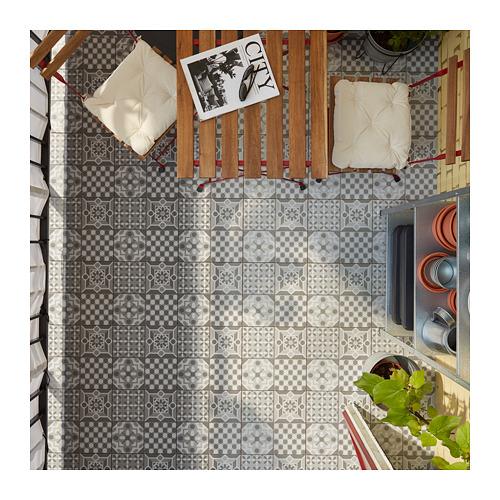 MÄLLSTEN - 戶外地板, 灰色/白色 | IKEA 香港及澳門 - PH168430_S4
