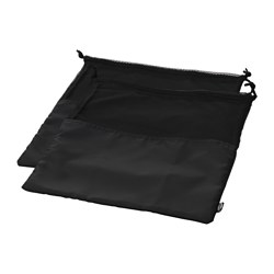 BRODERLIG - 鞋袋, 黑色 | IKEA 香港及澳門 - PE648180_S3