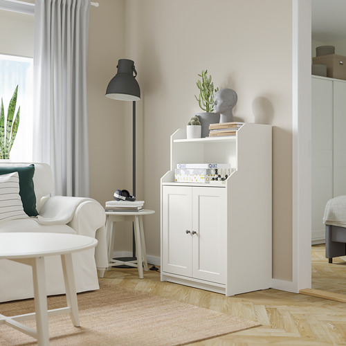 HAUGA cabinet with 2 doors