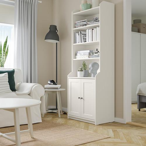 HAUGA - 雙門高櫃, 白色 | IKEA 香港及澳門 - PE791578_S4