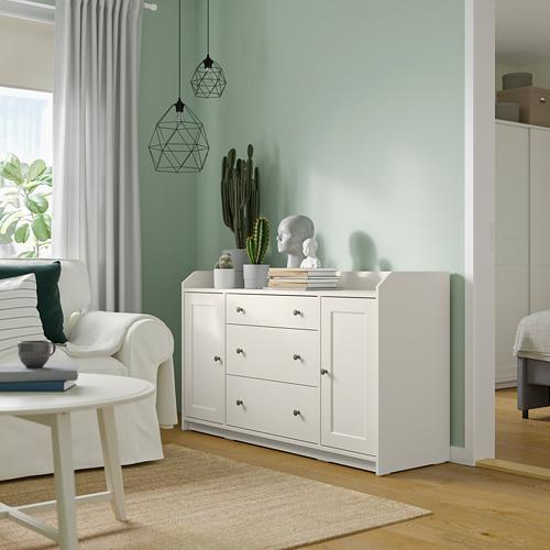 HAUGA - 餐具櫃, 白色   IKEA 香港及澳門 - PE791584_S4