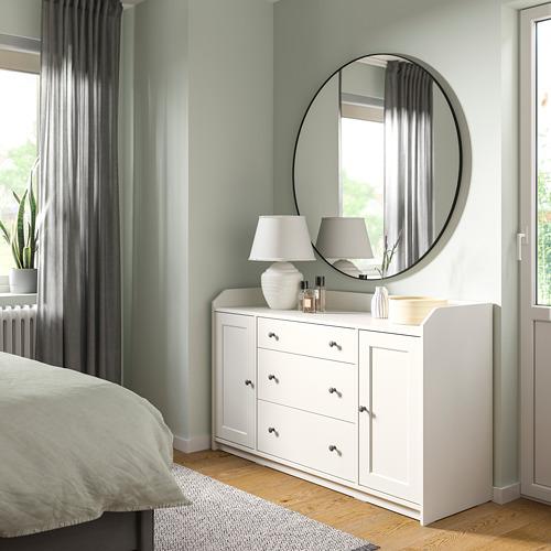 HAUGA - 餐具櫃, 白色   IKEA 香港及澳門 - PE791586_S4