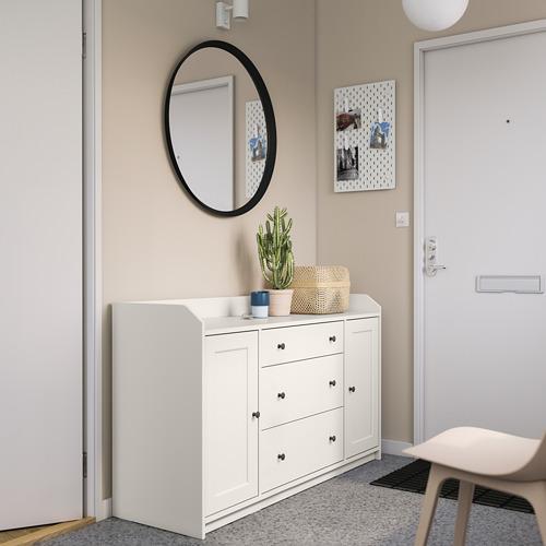 HAUGA - 餐具櫃, 白色   IKEA 香港及澳門 - PE791587_S4
