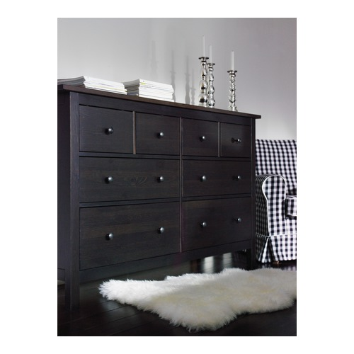 HEMNES chest of 8 drawers