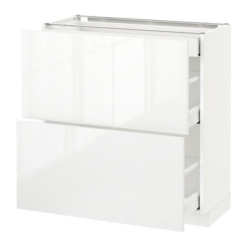 METOD - 地櫃連面板抽屜組合, 白色 Maximera/Ringhult 白色 | IKEA 香港及澳門 - PE522227_S4